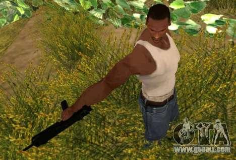 MP7 for GTA San Andreas third screenshot