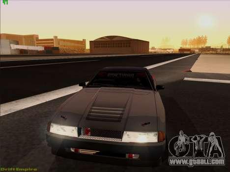 Vinyls for Elegy for GTA San Andreas interior