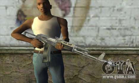 AK47 из S.T.A.L.K.E.R. for GTA San Andreas third screenshot
