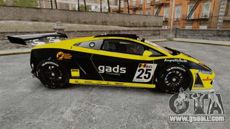Lamborghini Gallardo LP560-4 GT3 2010 Gads for GTA 4 left view