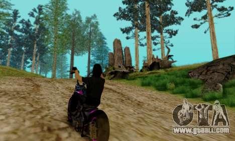 Glenn Danzig Skin for GTA San Andreas seventh screenshot