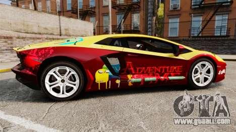 Lamborghini Aventador LP700-4 2012 [EPM] Jake for GTA 4 left view