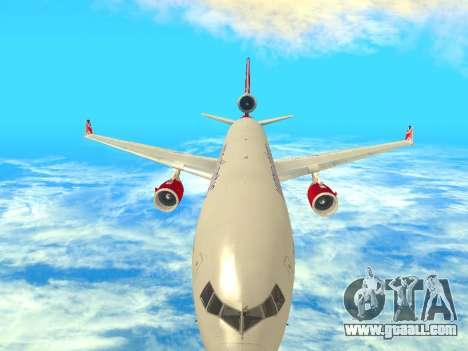 McDonnell Douglas MD-11 for GTA San Andreas inner view