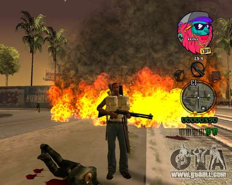 C-HUD Lion for GTA San Andreas third screenshot