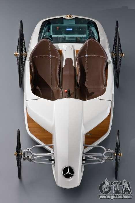 Boot screens Mercedes-Benz F-CELL Roadster for GTA 4 eighth screenshot
