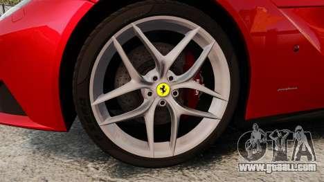 Ferrari F12 Berlinetta 2013 [EPM] Black bars for GTA 4 back view
