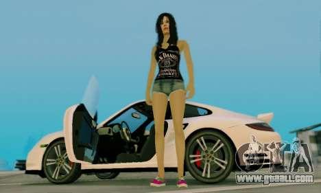 Jack Daniels Girl Skin for GTA San Andreas sixth screenshot