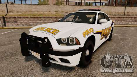 Dodge Charger 2013 Liberty University Police ELS for GTA 4
