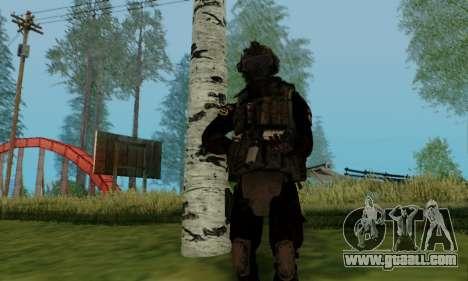 Kopassus Skin 2 for GTA San Andreas sixth screenshot