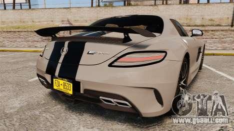 Mercedes-Benz SLS 2014 AMG NFS Stripes for GTA 4 back left view