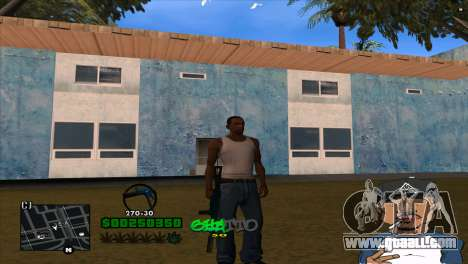 C-HUD By Markus for GTA San Andreas