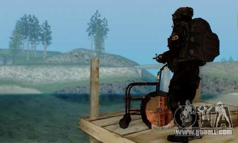 Kopassus Skin 2 for GTA San Andreas eighth screenshot