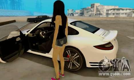 Jack Daniels Girl Skin for GTA San Andreas forth screenshot