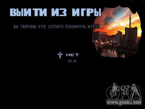 HQ Menu San Andreas for GTA San Andreas eighth screenshot