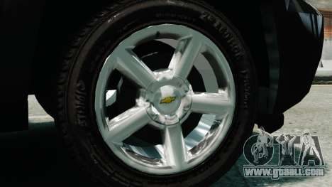 Chevrolet Suburban 2008 FBI [ELS] for GTA 4 right view