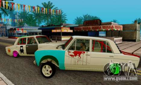 VAZ 2106 Cramps for GTA San Andreas left view
