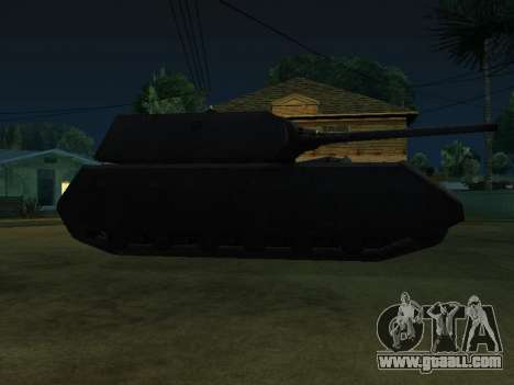PzKpfw VII Maus for GTA San Andreas back left view