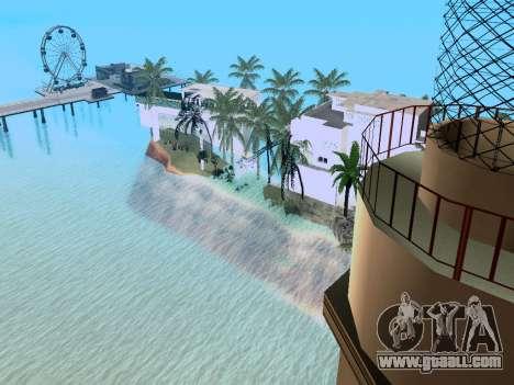 New island V2.0 for GTA San Andreas fifth screenshot