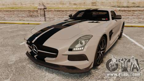 Mercedes-Benz SLS 2014 AMG NFS Stripes for GTA 4