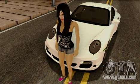 Jack Daniels Girl Skin for GTA San Andreas