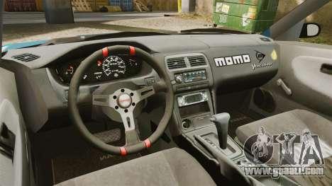 Mazda RX-7 Kawabata Toyo for GTA 4 back view
