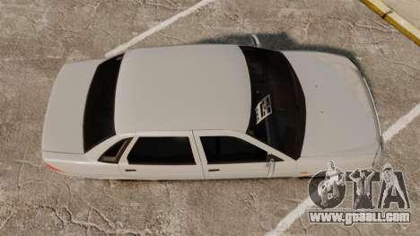 ВАЗ-Lada 2170 Priora v2.0 for GTA 4 right view