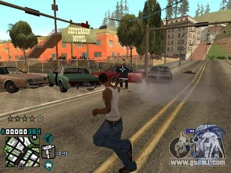 C-HUD Rifa in Ghetto for GTA San Andreas third screenshot