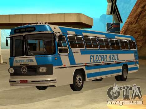 Mercedes Benz Mb O362 for GTA San Andreas left view