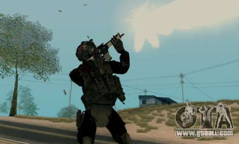 Kopassus Skin 2 for GTA San Andreas second screenshot