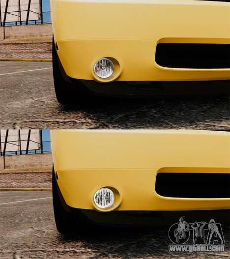 Dodge Challenger SRT8 2009 [EPM] APB Reloaded for GTA 4 bottom view