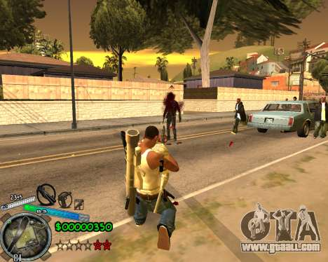 C-HUD Gor Life Ghetto for GTA San Andreas third screenshot