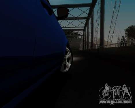 Skoda Octavia A7 for GTA San Andreas upper view