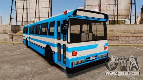 Brute Bus Japanese Police [ELS] for GTA 4