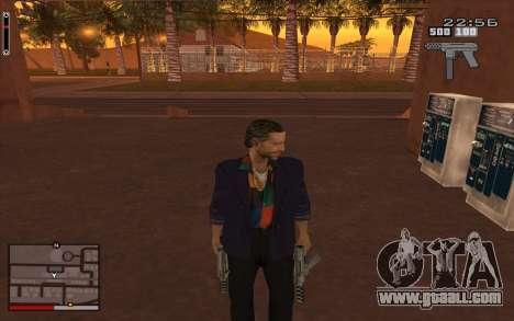C-HUD GTA 5 for GTA San Andreas third screenshot
