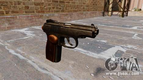 The Makarov Pistol for GTA 4