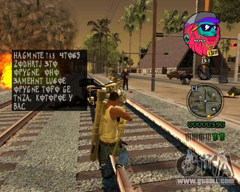 C-HUD Lion for GTA San Andreas forth screenshot