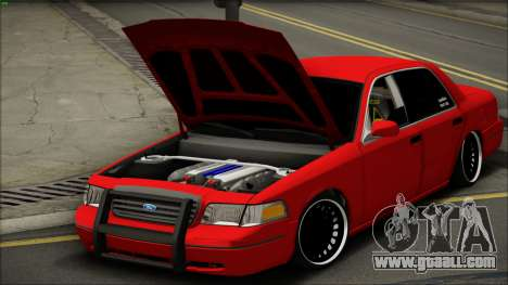 Ford Crown Victoria for GTA San Andreas right view