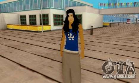 Ophelia v2 for GTA San Andreas forth screenshot