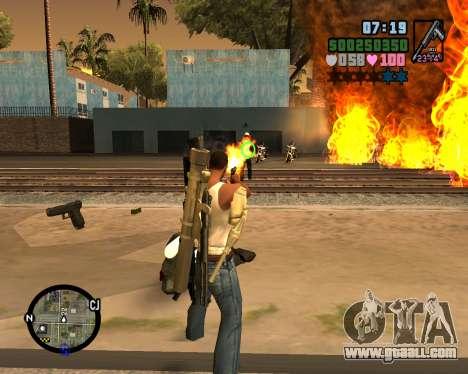 C-HUD Vice Sity for GTA San Andreas second screenshot
