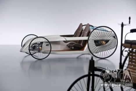 Boot screens Mercedes-Benz F-CELL Roadster for GTA 4 second screenshot