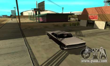 Shadows in the style of RAGE for GTA San Andreas forth screenshot