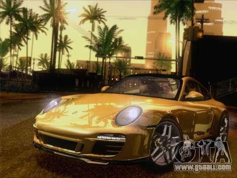 Porsche 911 Targa 4S for GTA San Andreas left view