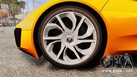 Jaguar C-X75 [EPM] for GTA 4 back view