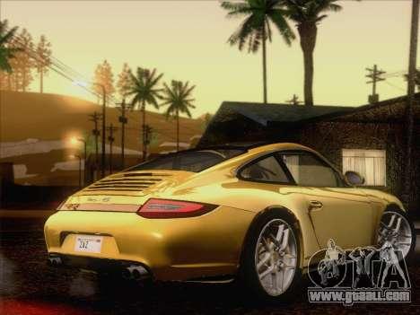 Porsche 911 Targa 4S for GTA San Andreas right view