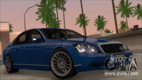 Maybach 57 TT Black Revel for GTA San Andreas