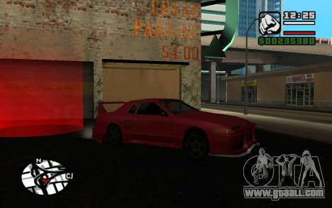 Tuning Mod 0.9 for GTA San Andreas fifth screenshot