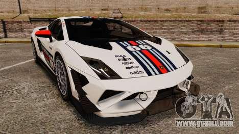Lamborghini Gallardo LP570-4 Martini Raging for GTA 4