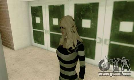 Young Blonde for GTA San Andreas fifth screenshot