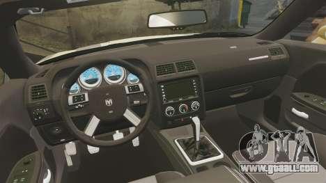 Dodge Challenger SRT8 2009 [EPM] APB Reloaded for GTA 4 side view