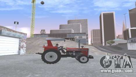 Massey Ferguson 290 1980 for GTA San Andreas right view